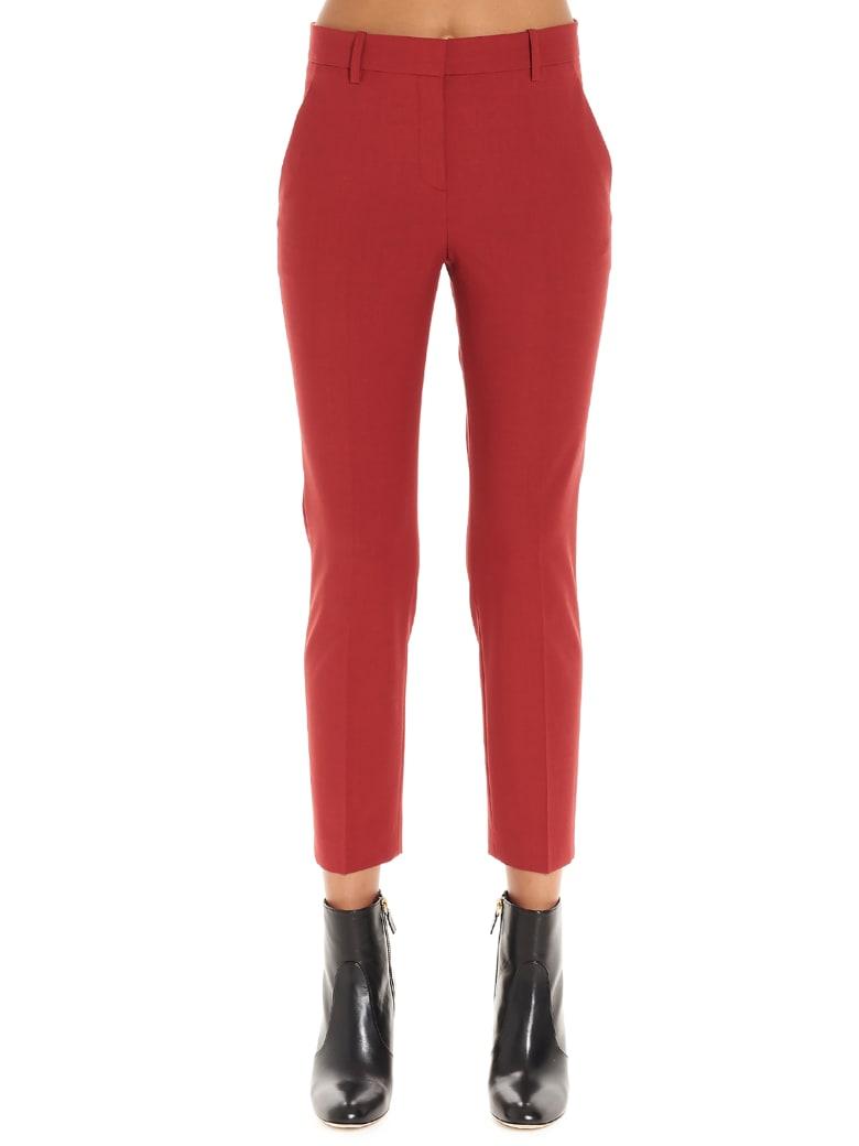 Theory 'treeca' Pants - Red