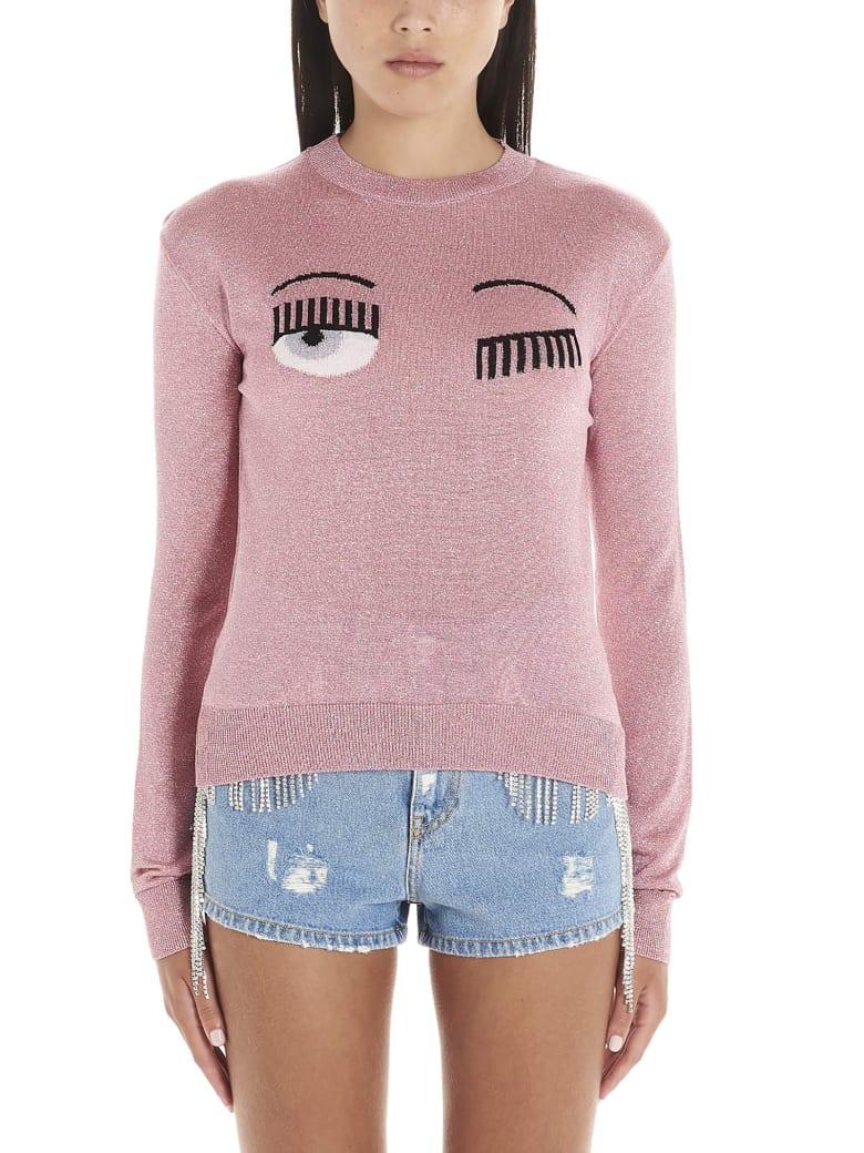 Chiara Ferragni 'flirting' Sweater - Pink
