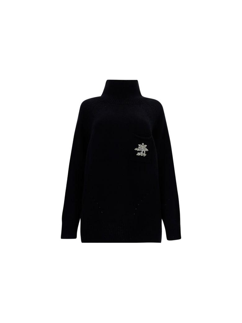 Ermanno Scervino Turtleneck Sweater - Black