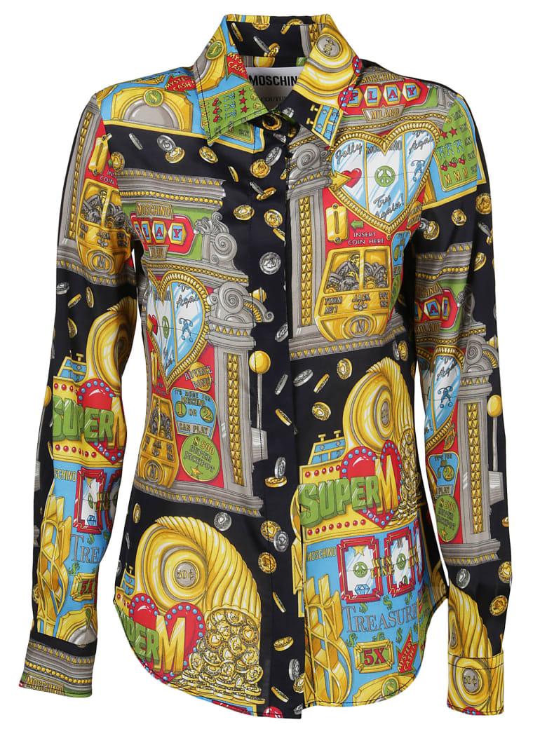 quality design 5485b ce575 Moschino Camicia