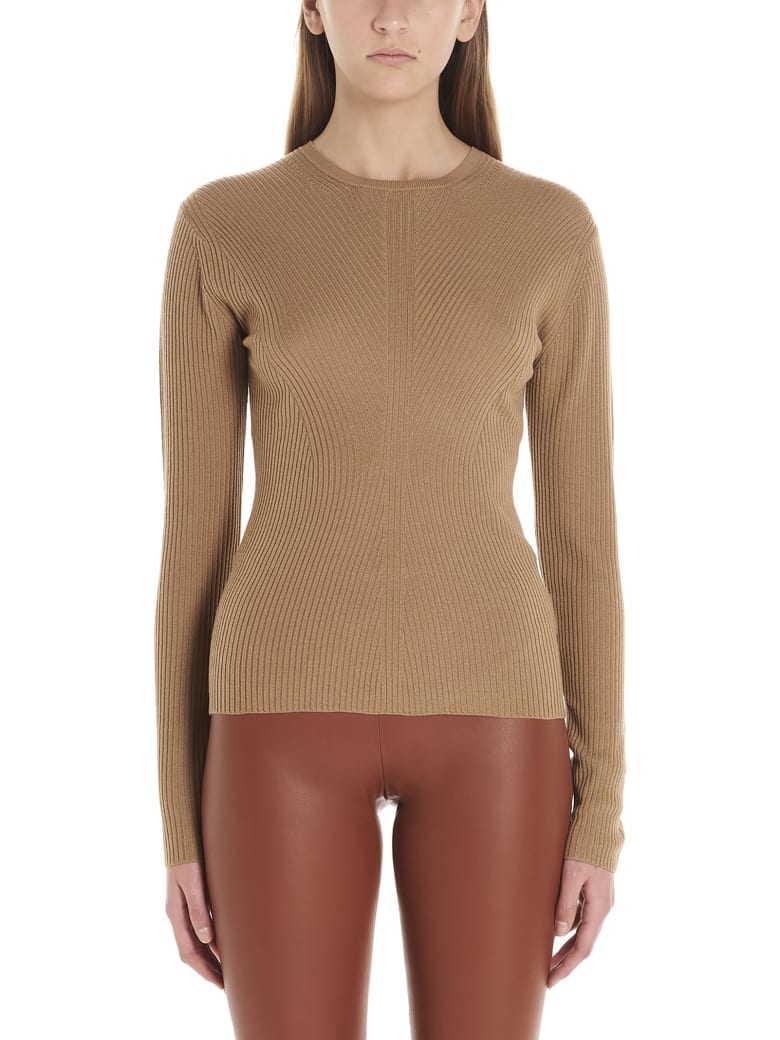 Theory 'moving Rib' Sweater - Beige