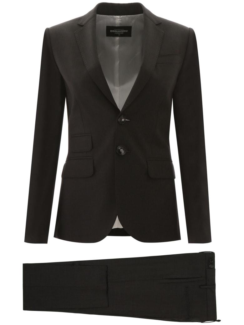 Dsquared2 London Pantsuit - DARK GREY (Grey)