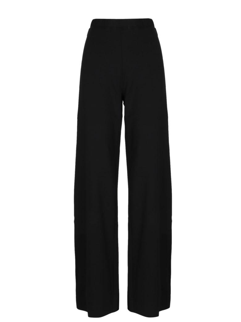 PierAntonioGaspari Stretch Wide Leg Pants - Black