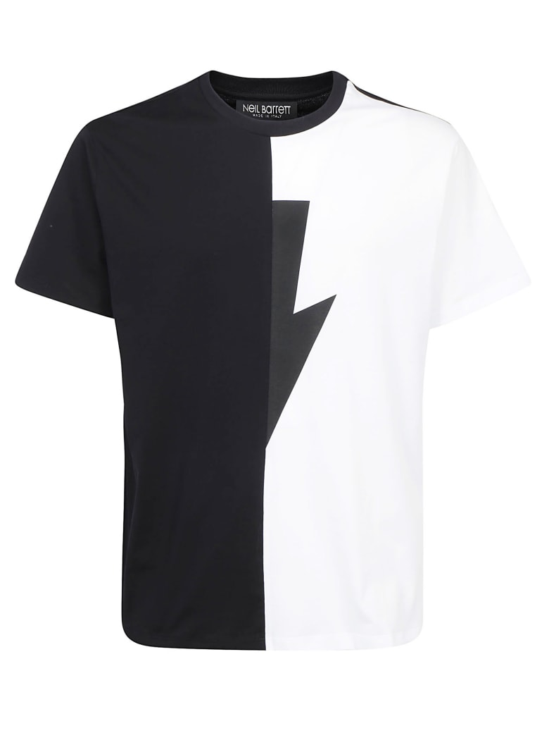 Neil Barrett T-shirt - Black and white