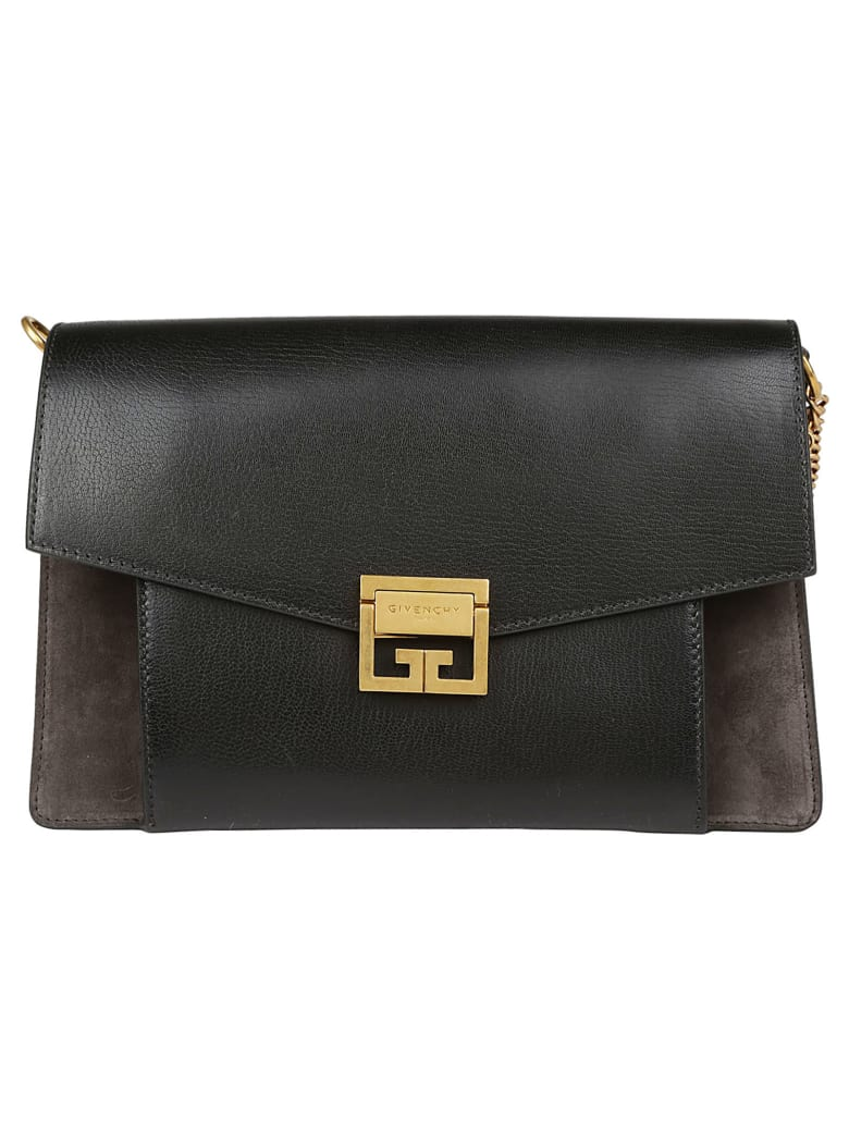Givenchy Gv3 Medium Bag - Black grey