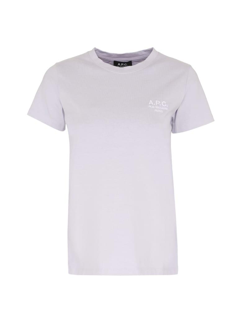 A.P.C. Denise Cotton T-shirt - Lilac