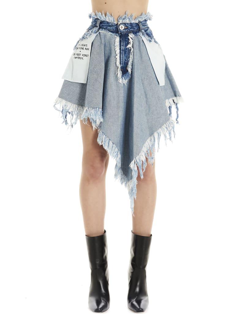 Ben Taverniti Unravel Project Skirt - Blue