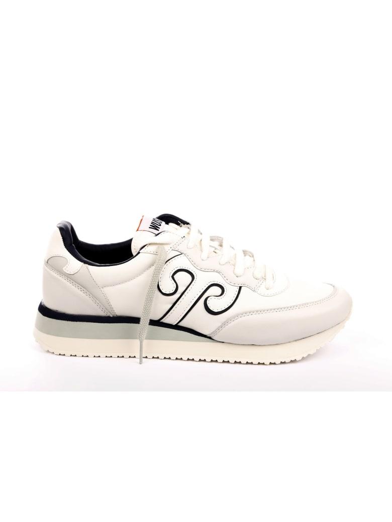 Wushu Ruyi Leather Sneaker - White