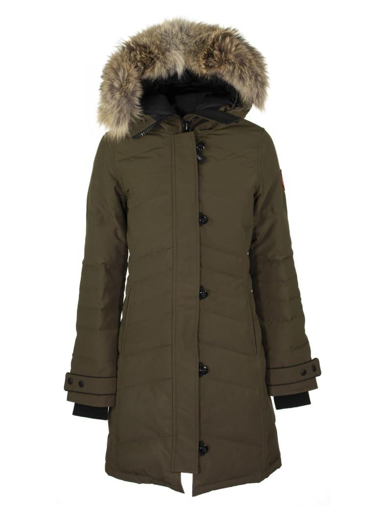 Canada Goose Lorette Parka Jacket - Military Green