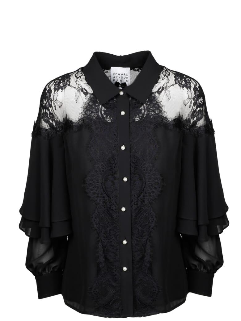 Edward Achour Paris Shirt - Black