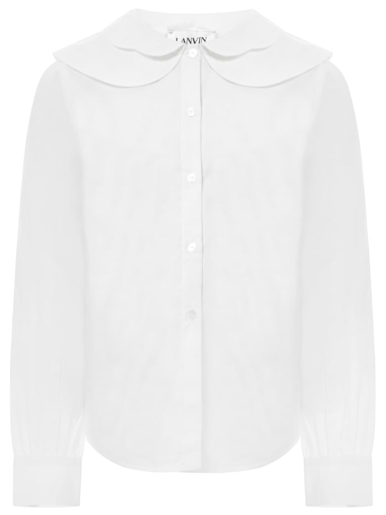 Lanvin Kids Shirt - White