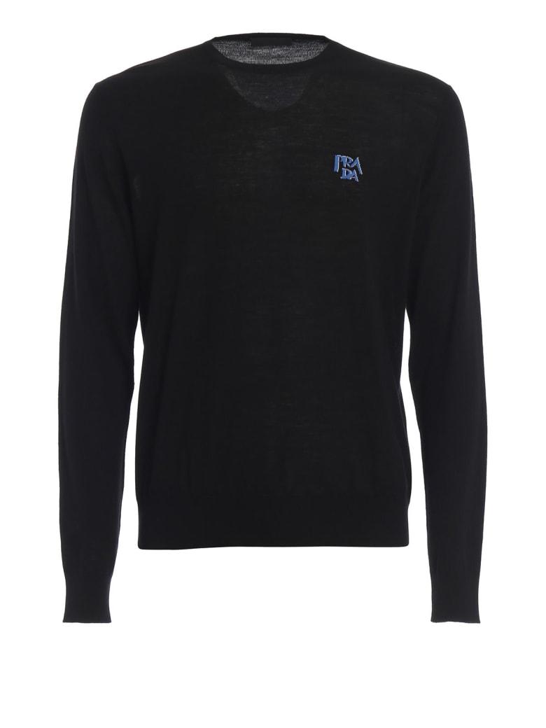 Prada Logo Sweater - Nero