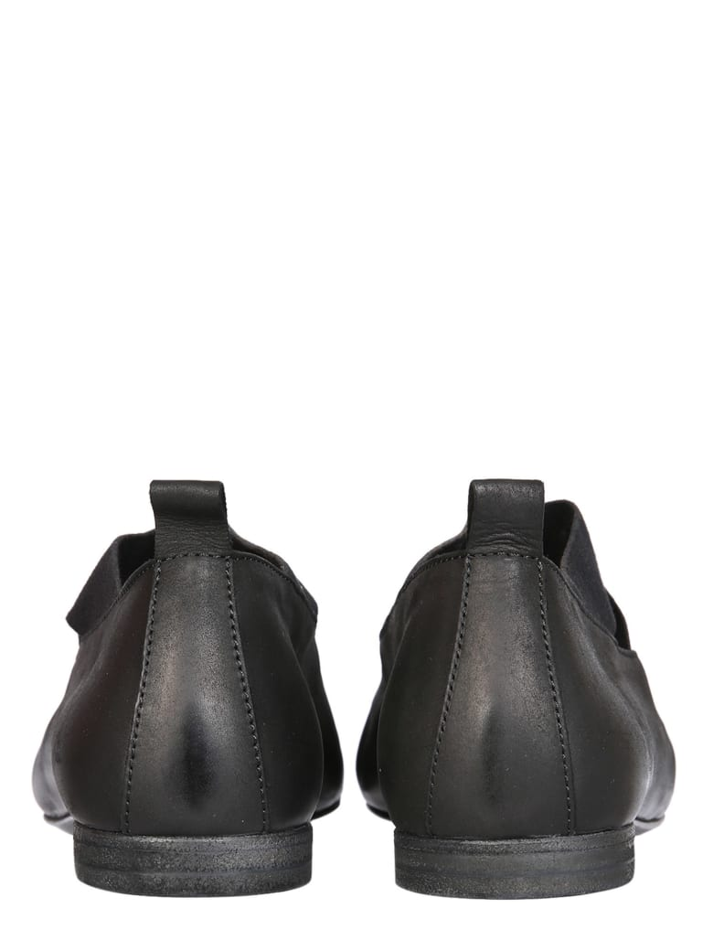 Uma Wang Leather Ballerinas - Nero