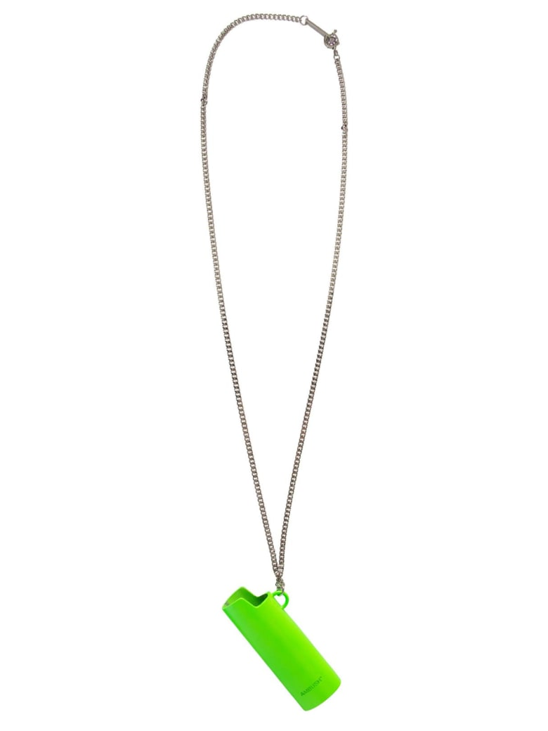 AMBUSH Lighter Pendant Necklace - VERDE