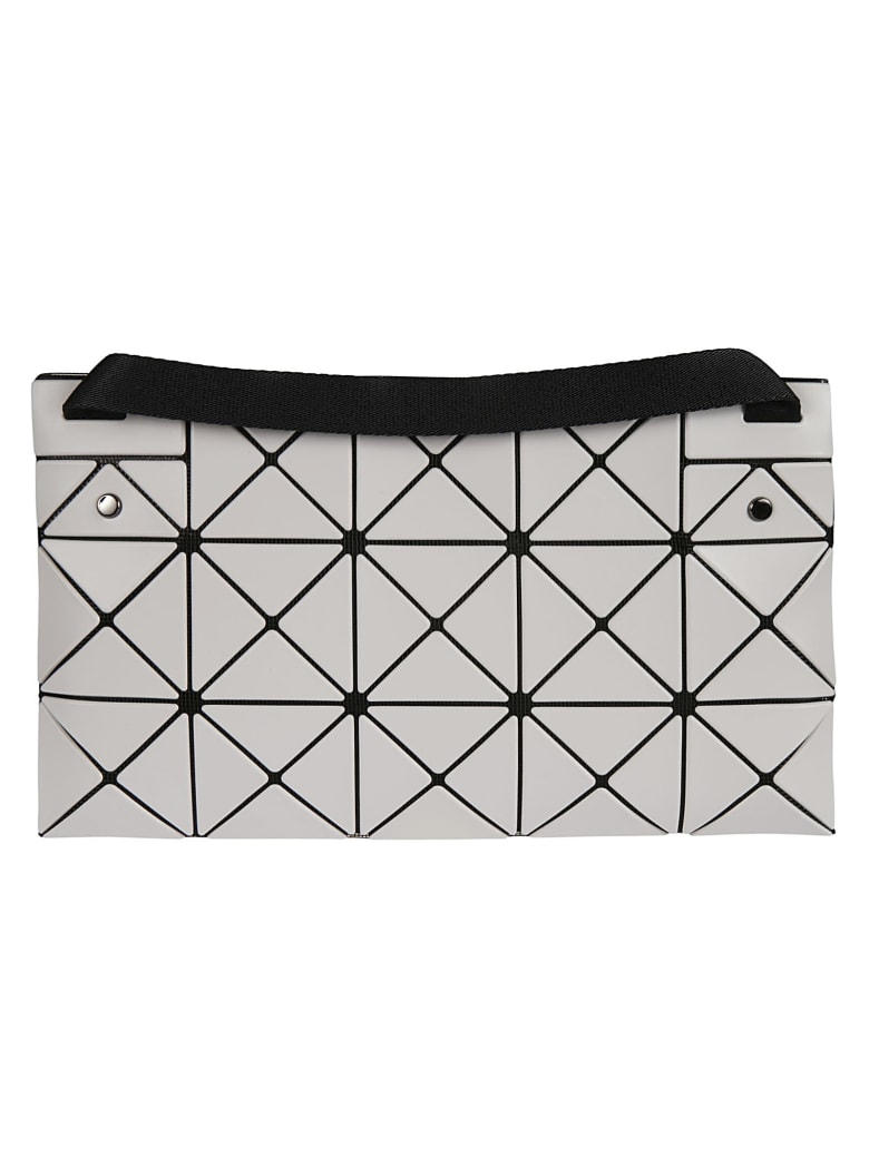 Bao Bao Issey Miyake Lucent Matte Shoulder Bag - Grigio chiaro