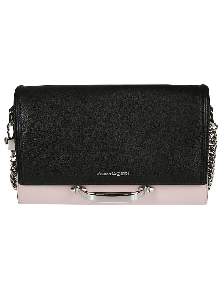 Alexander McQueen Detachable Chain Strap Shoulder Bag - Multicolor