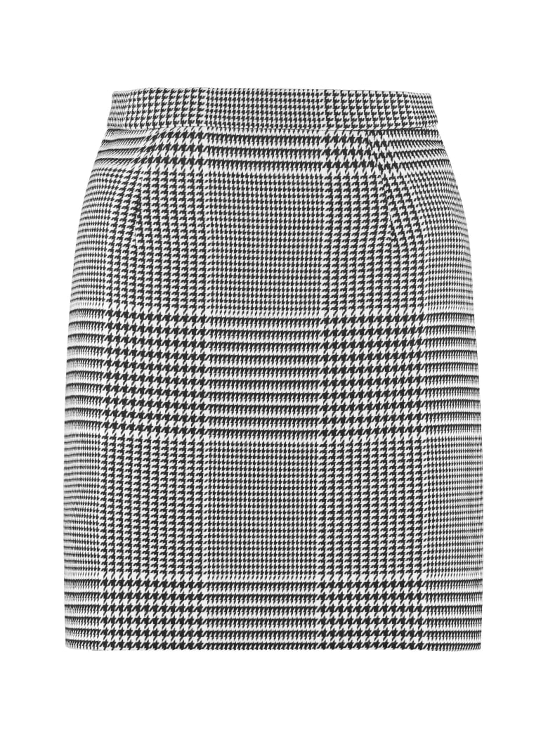 Off-White Prince-of-wales Checked Mini Skirt - Multicolor