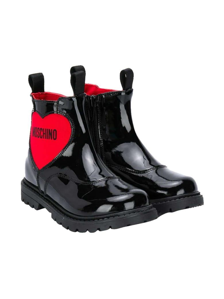Moschino Black Boots - Nero