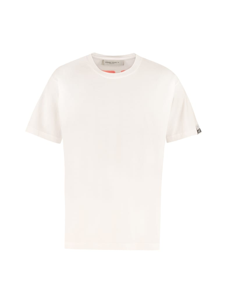 Golden Goose Oversize Cotton T-shirt - White