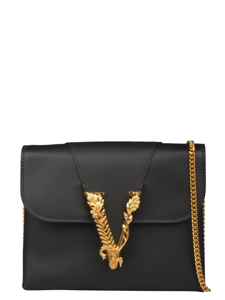 Versace Virtus Pouch - Black