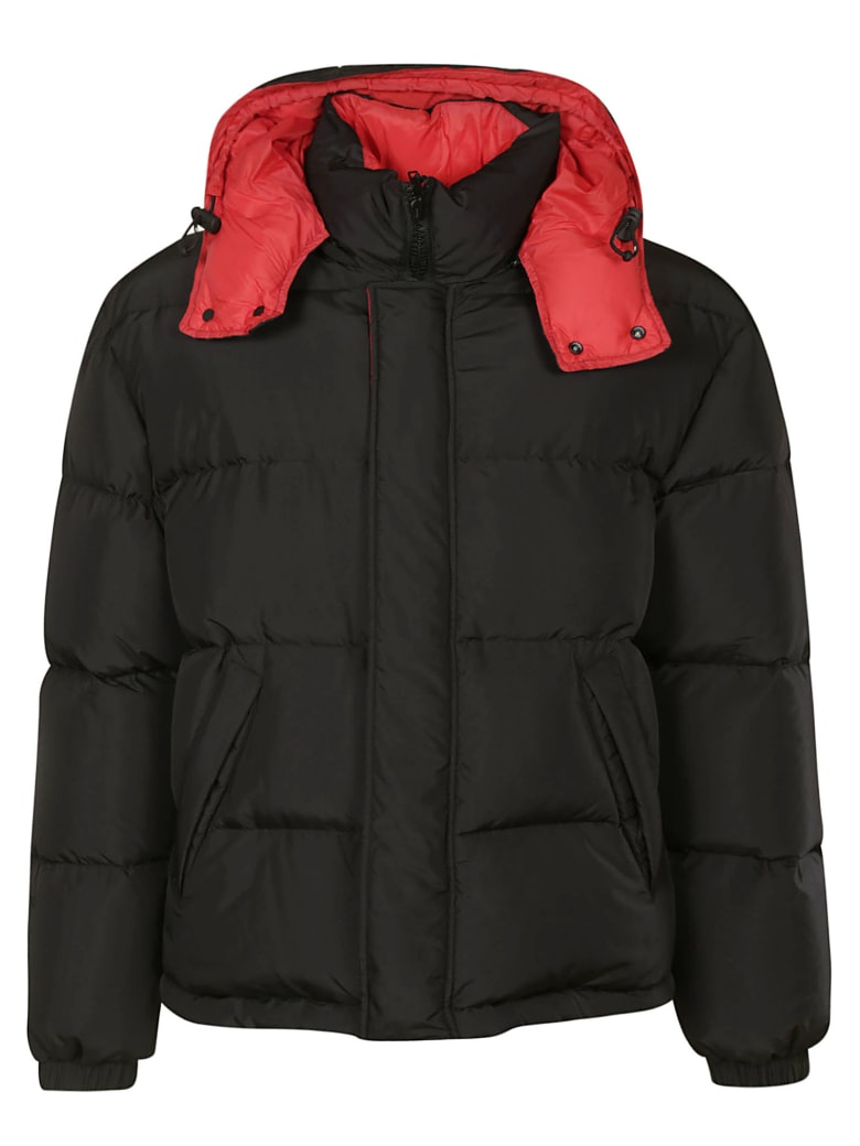 MSGM Cropped Padded Jacket - Black