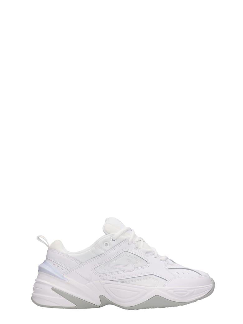 Nike M2k Techno Sneakers White Leather - white