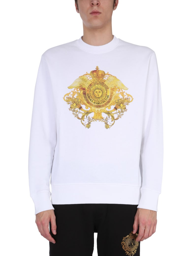Versace Jeans Couture Crew Neck Sweatshirt - Bianco