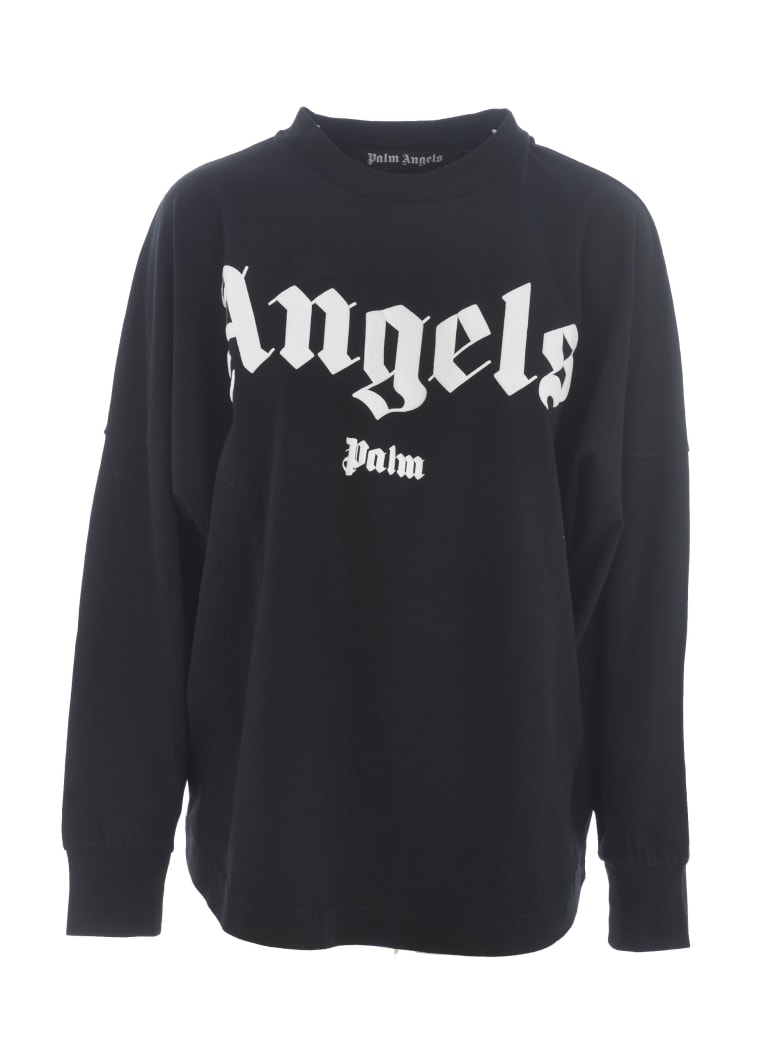 Palm Angels Short Sleeve T-Shirt - Nero