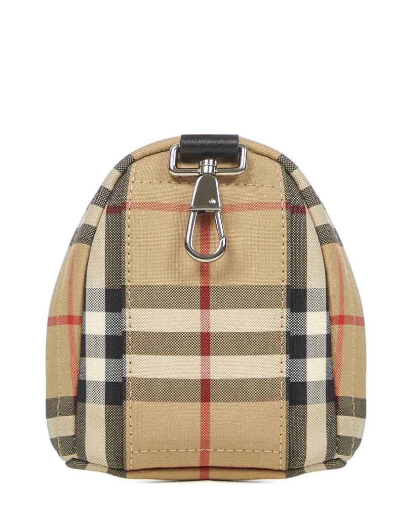 Burberry Key Ring - Archive beige