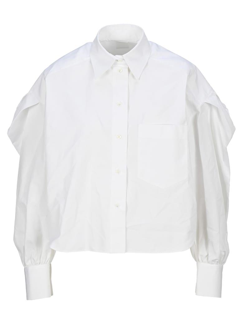 Valentino Balloon Sleeves Shirt - WHITE