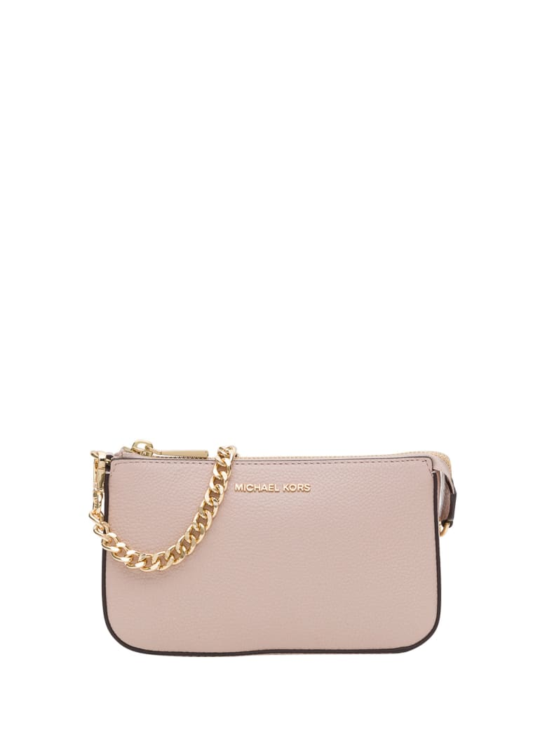 Best price on the market at italist | MICHAEL Michael Kors MICHAEL Michael Kors Chain Clutch Bag