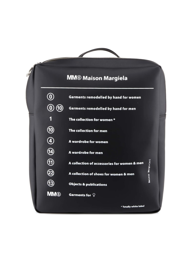 MM6 Maison Margiela Backpack - Black