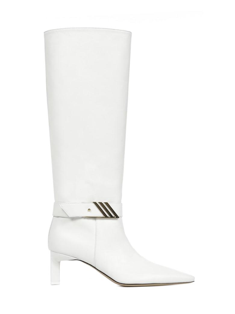 The Attico Boots - White