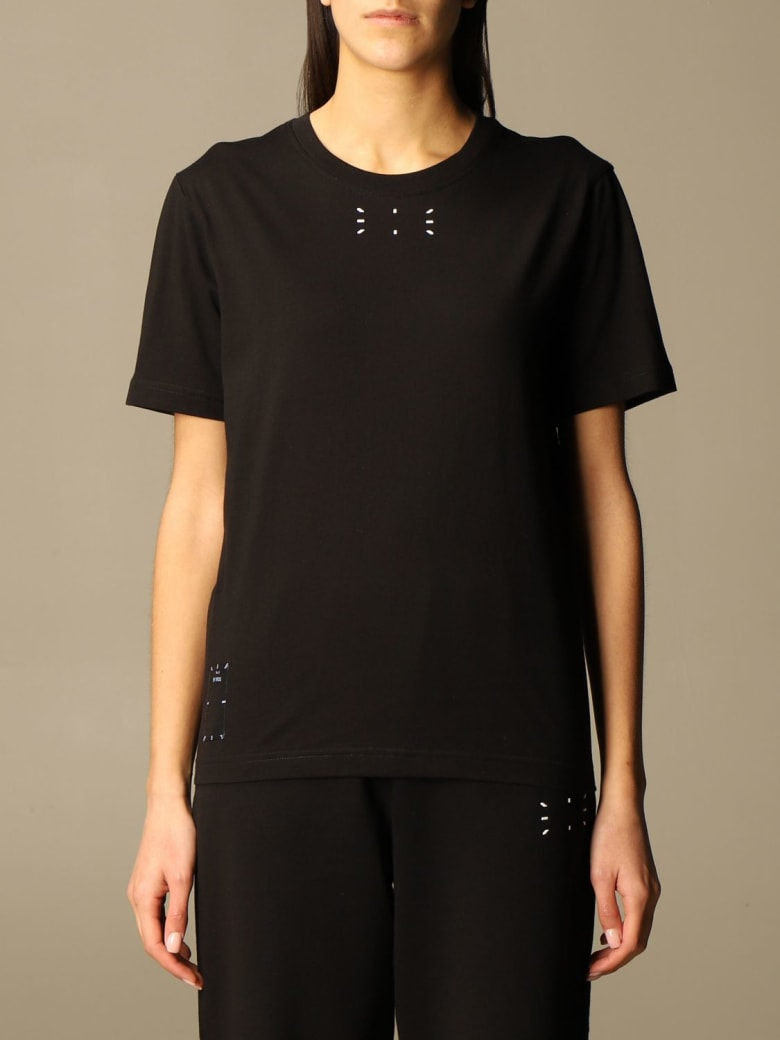 McQ Alexander McQueen Mcq T-shirt Mcq Cotton T-shirt With Logo - Black