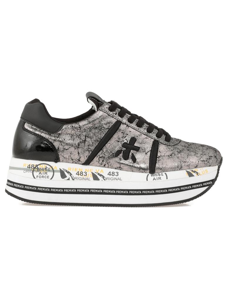 Premiata Beth Sneaker - SILVER BLACK