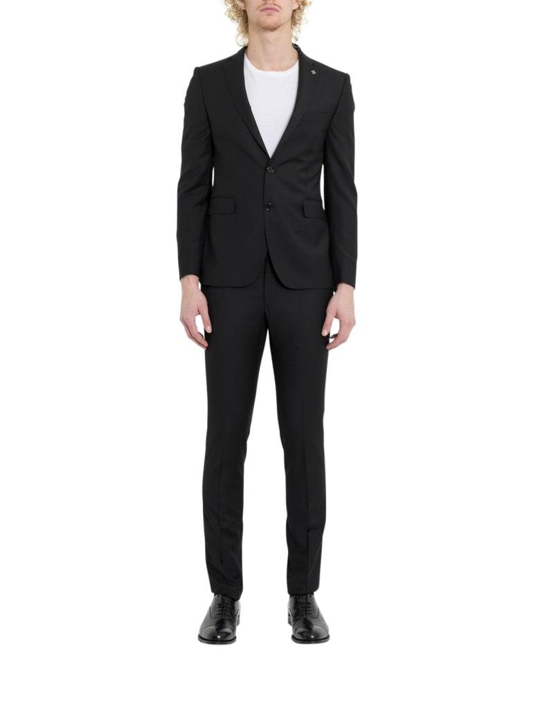 Tagliatore Bruce Suit - Nero