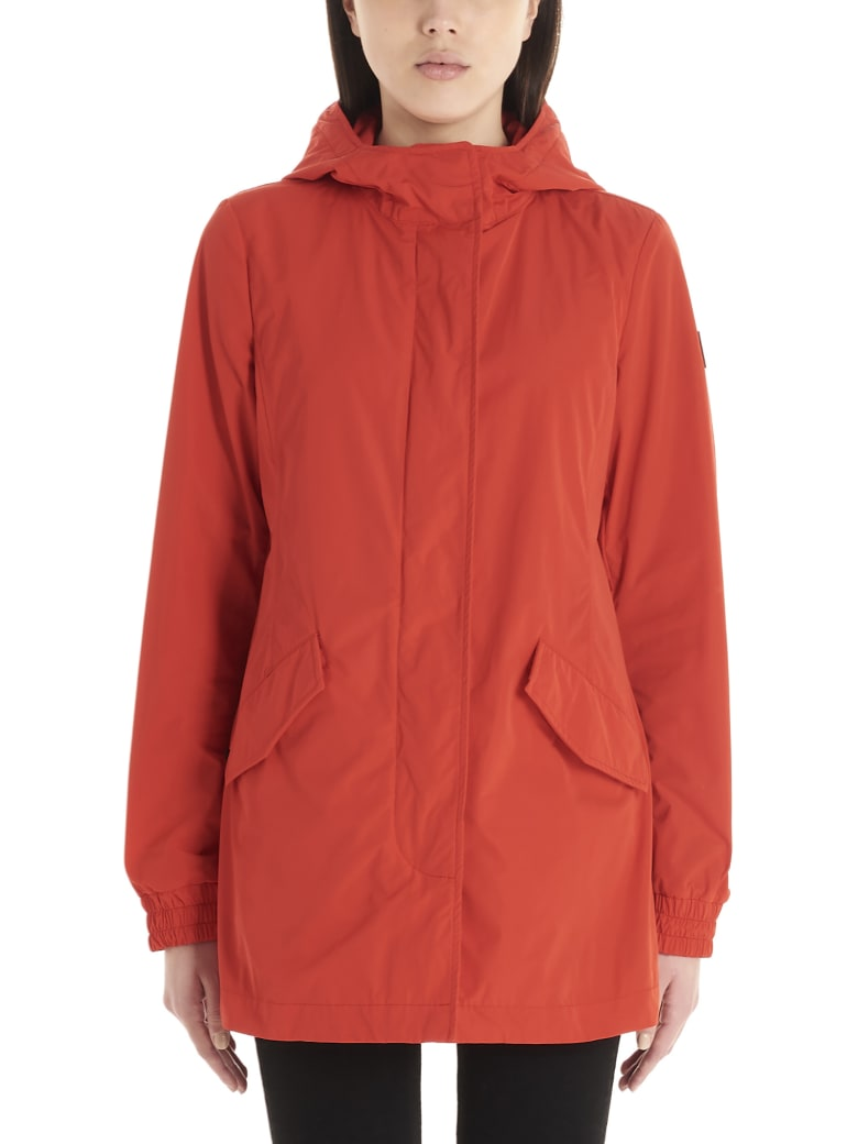 Woolrich 'summer Parka' Jacket - Red
