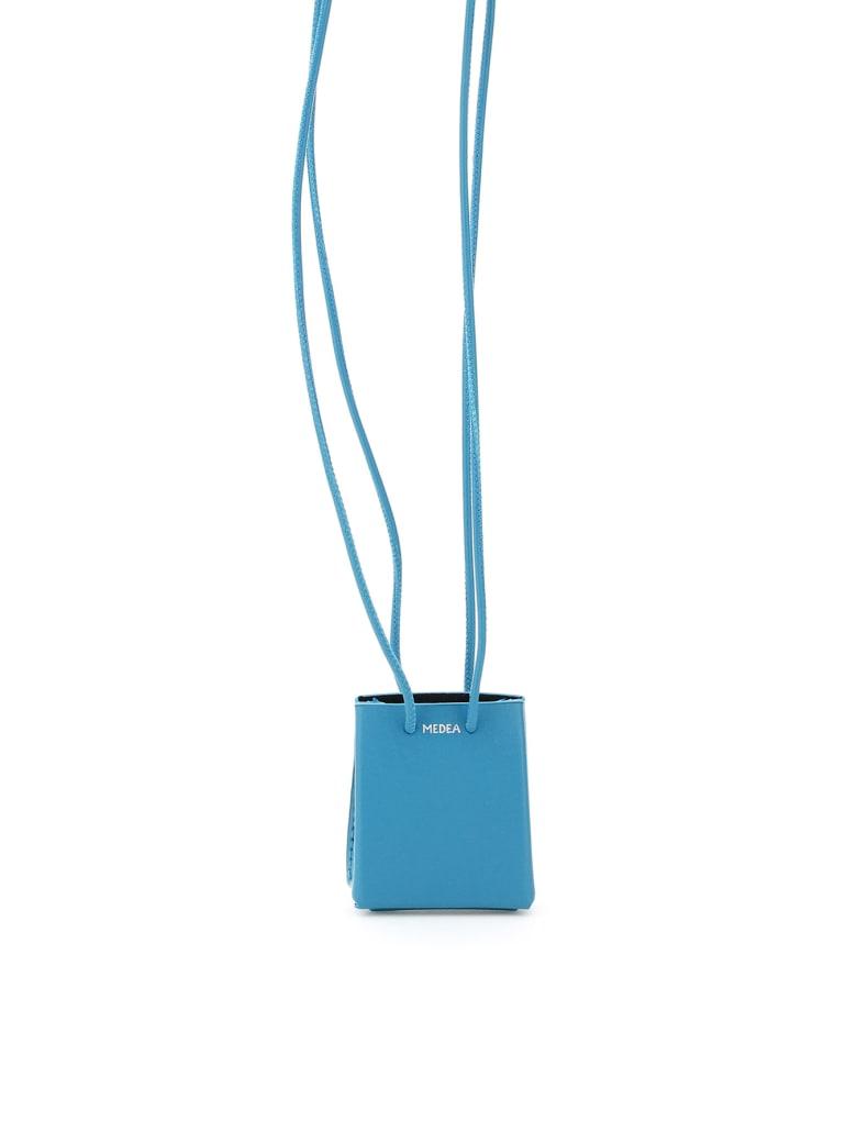 Medea Mini Medea Long Strap Micro Bag - TURQUOISE (Light blue)