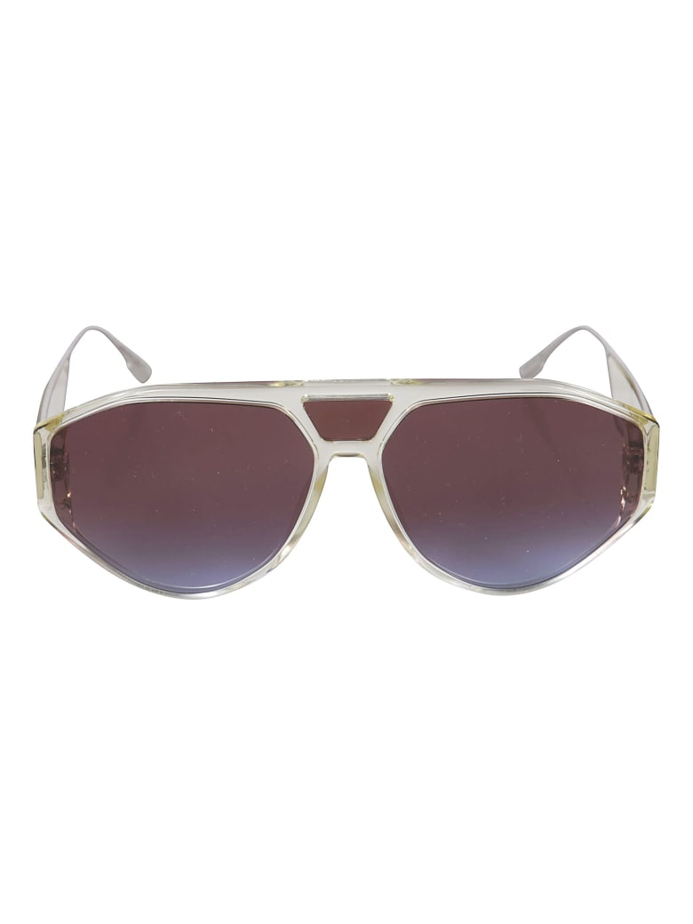 Christian Dior Aviator Sunglasses DiorClan1 - Transparent