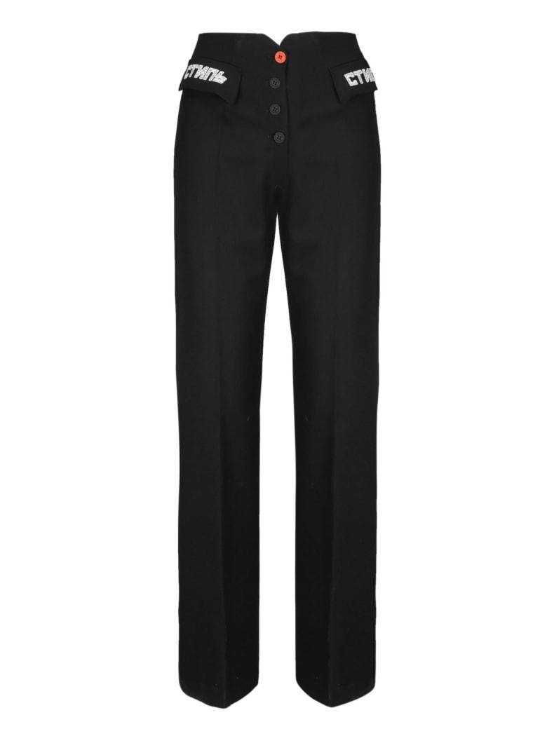 HERON PRESTON Trousers - Black