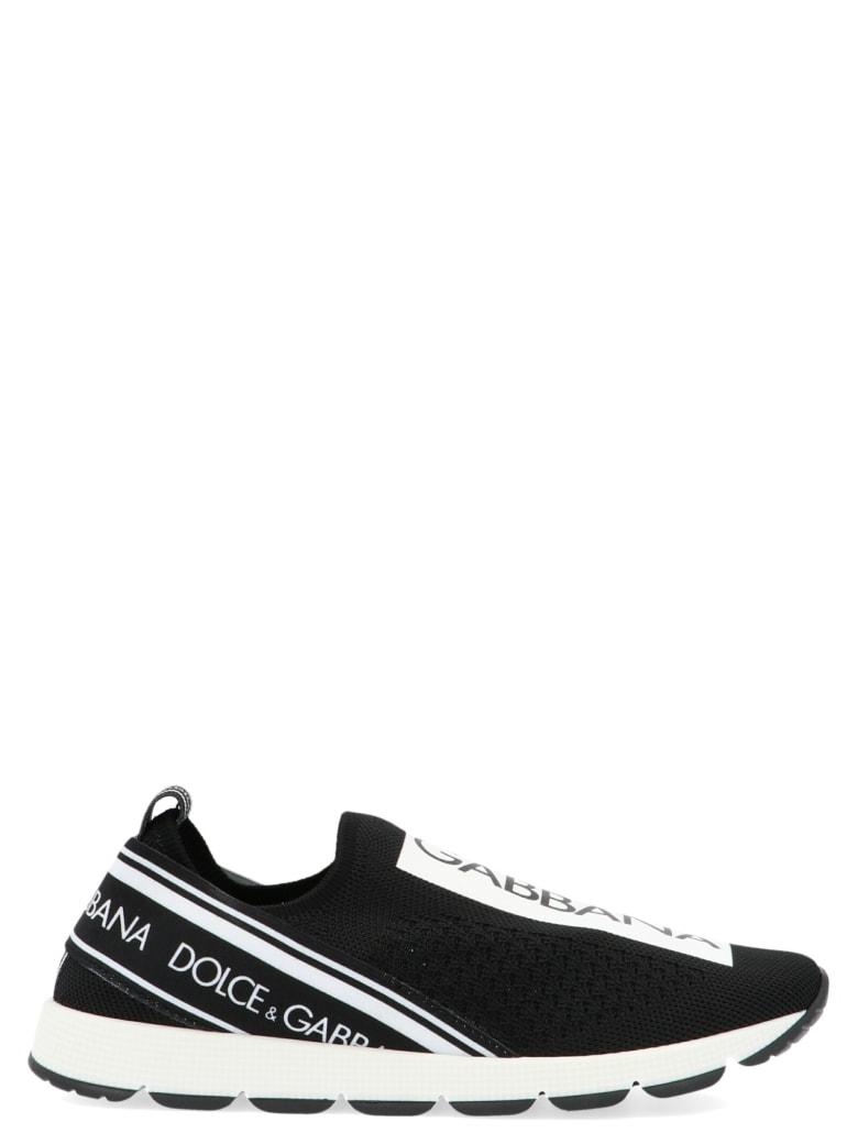 Dolce & Gabbana 'sorrento' Shoes - Black&White