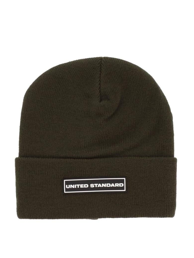 United Standard Box Logo Beanie - Mlt Military