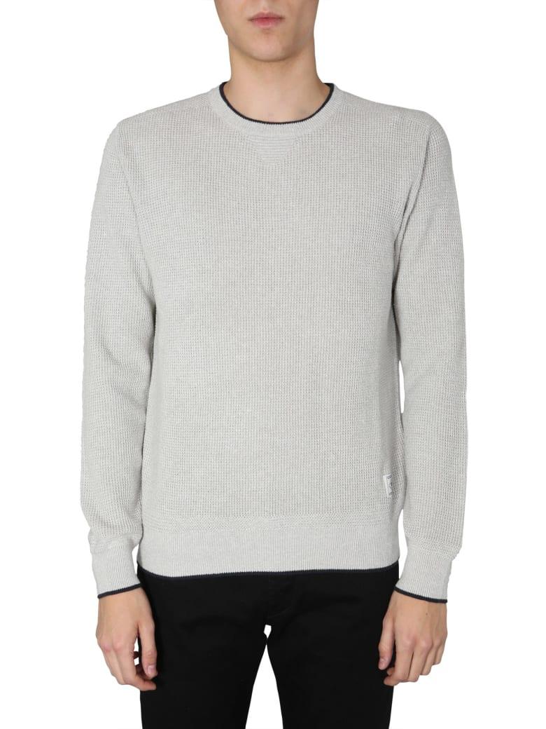 Belstaff Cotton Crew Neck Sweater - GRIGIO