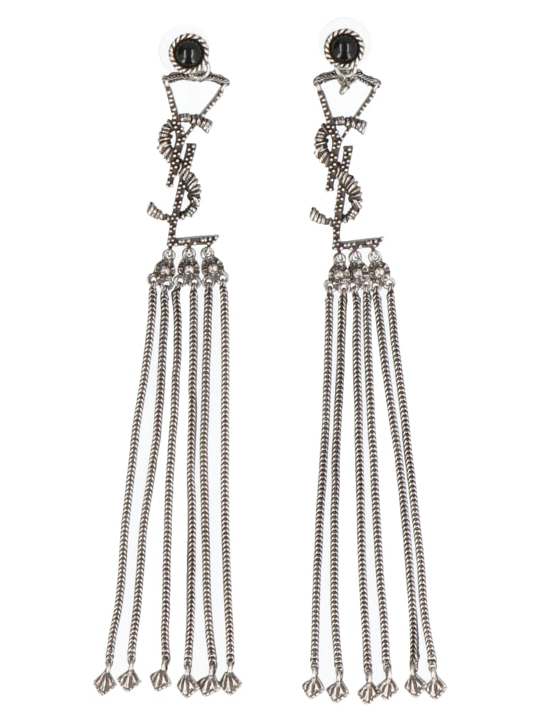 Saint Laurent Earings - Argentoxydenoir