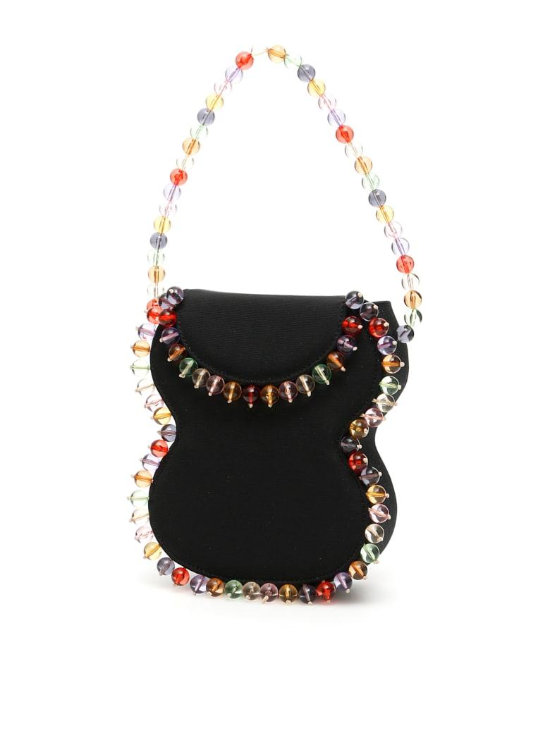 BY FAR Frida Mini Bag - BLACK (Black)