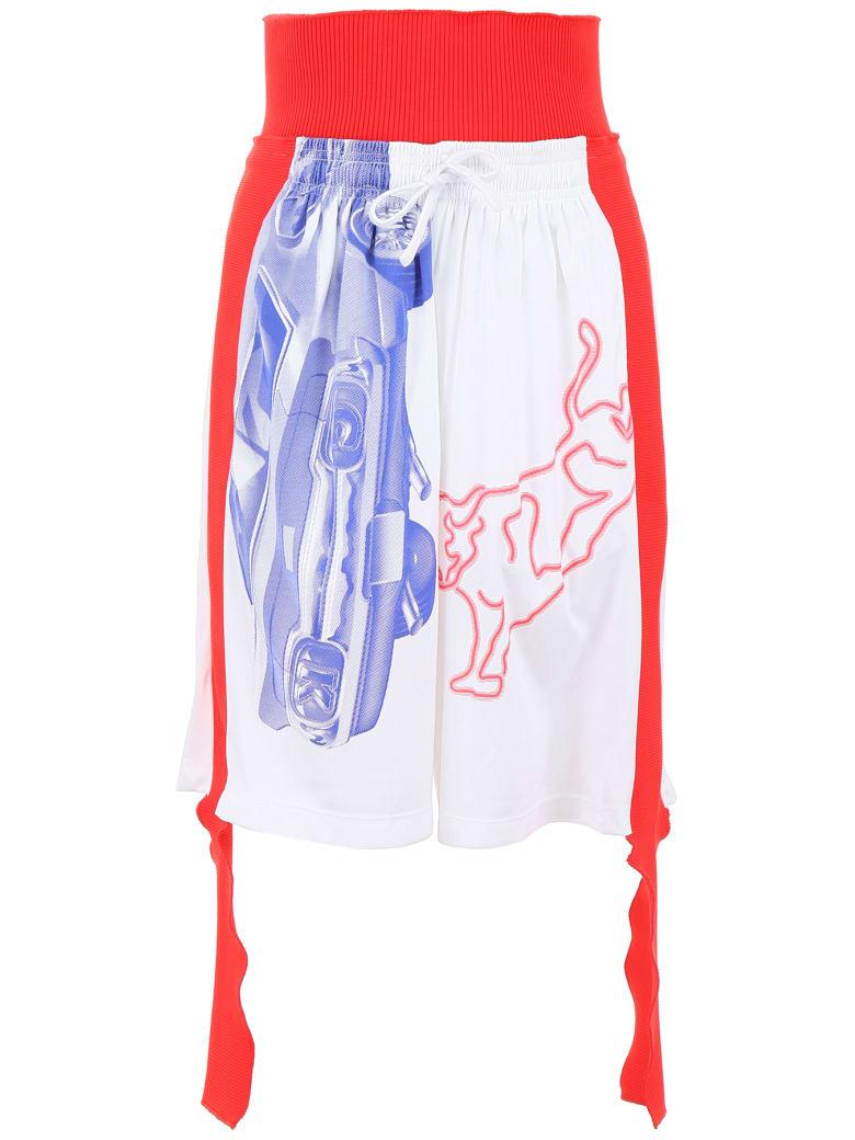 Calvin Klein Modernist Shorts - WHITE RED (White)