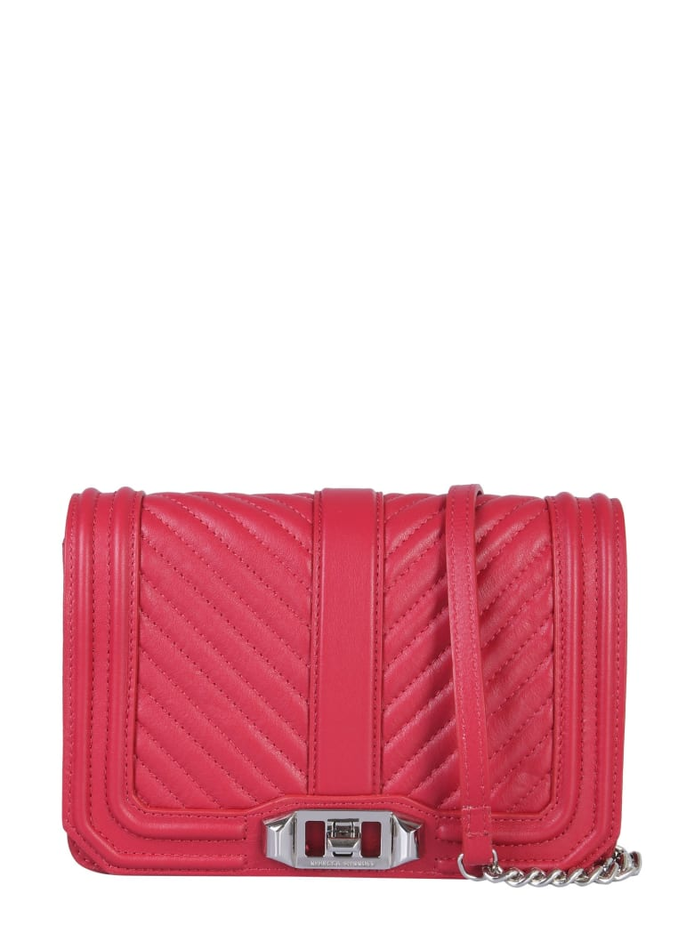 Rebecca Minkoff Mini Love Bag - ROSSO