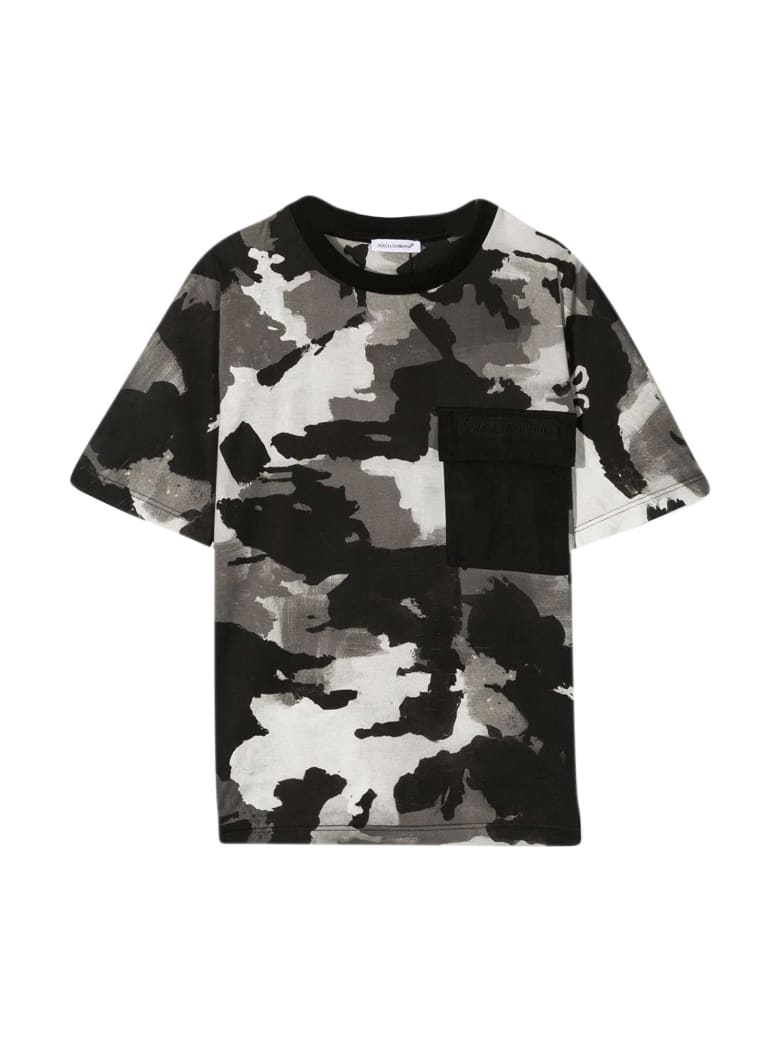 Dolce & Gabbana T-shirt Camouflage - Camouflage