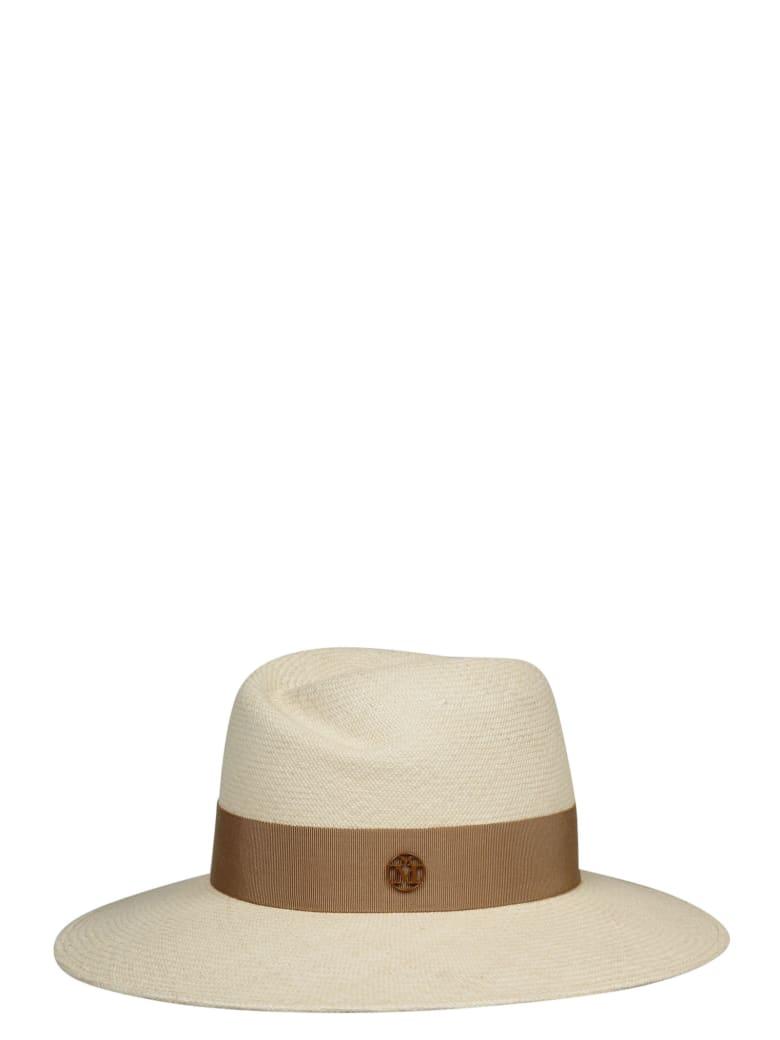 Maison Michel Virginie Timeles Hat - Nude & Neutrals