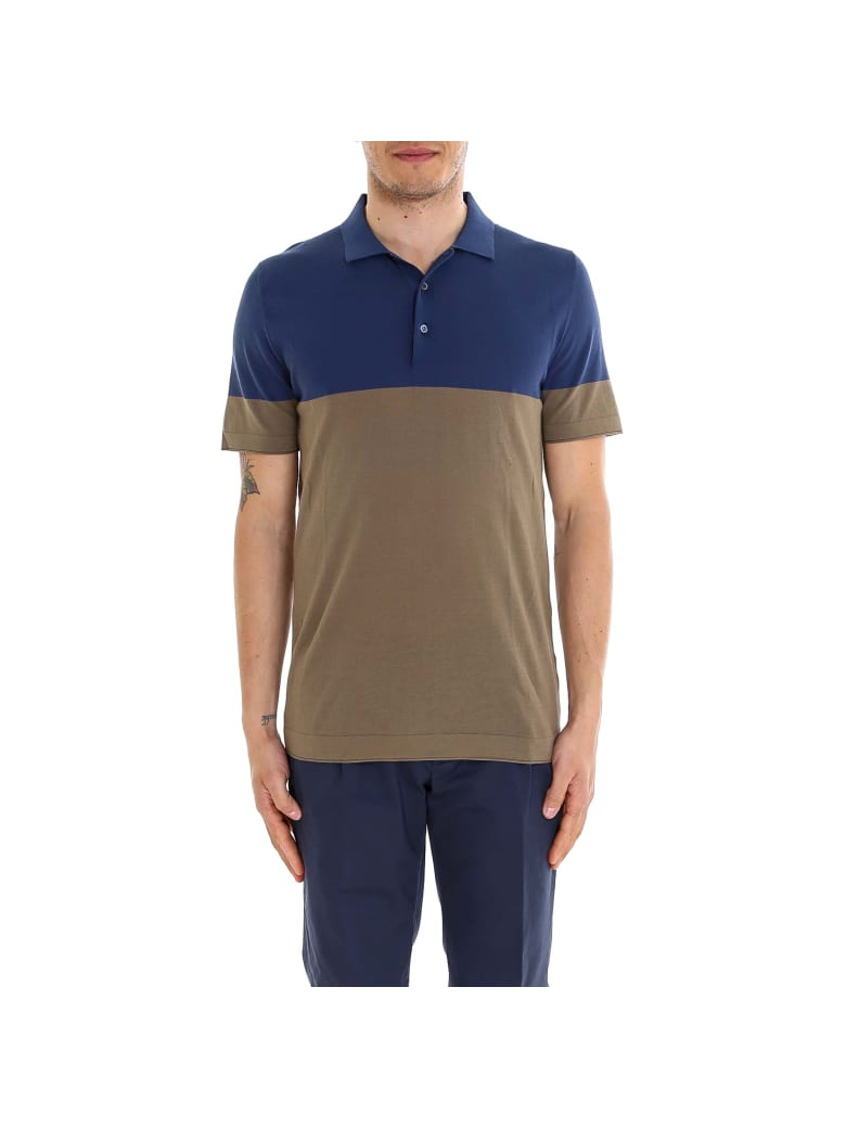 Corneliani Polo Shirt - Blue